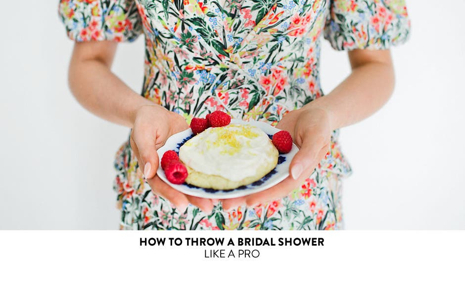 How to throw a bridal shower like a pro.