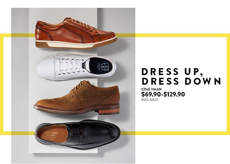 Anniversary Sale: Cole Haan men's shoes.