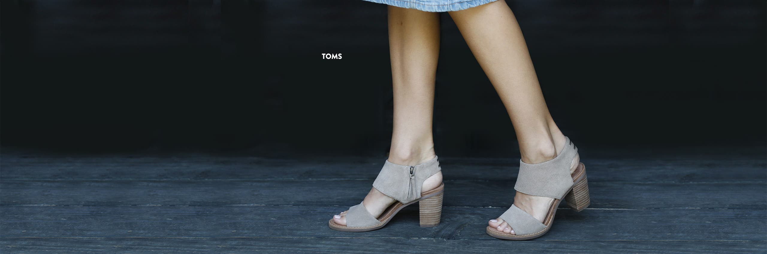 TOMS shoes for women.