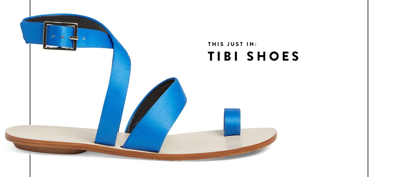 This just in: Tibi shoes.