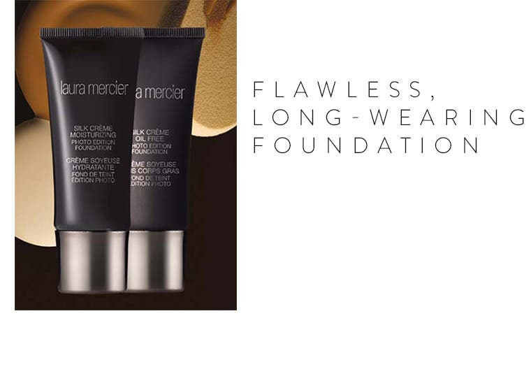 Flawless, long-wearing foundation.