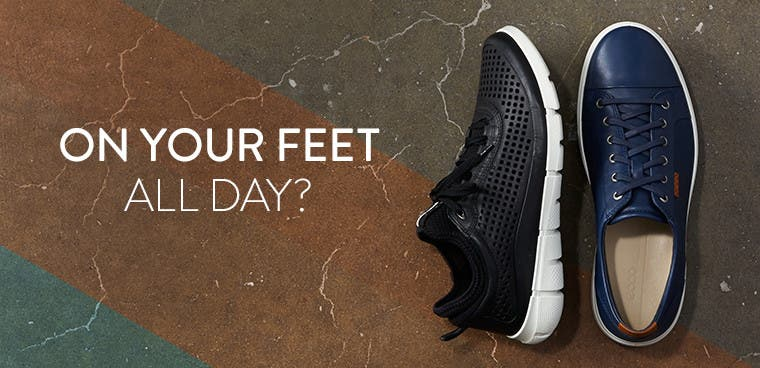 On your feet all day?