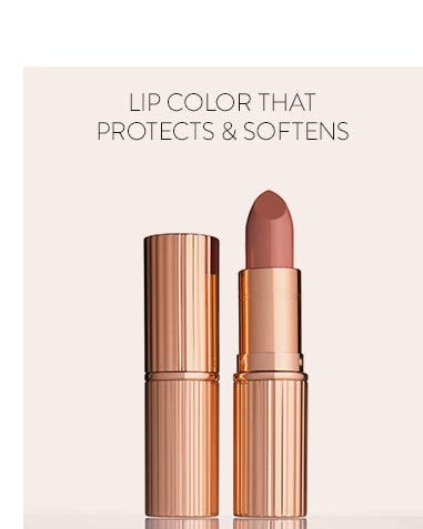 Lip color that protects and softens.