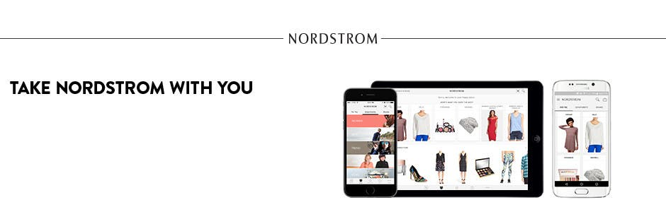 Shop Nordstrom on your iPhone, iPad or Android.