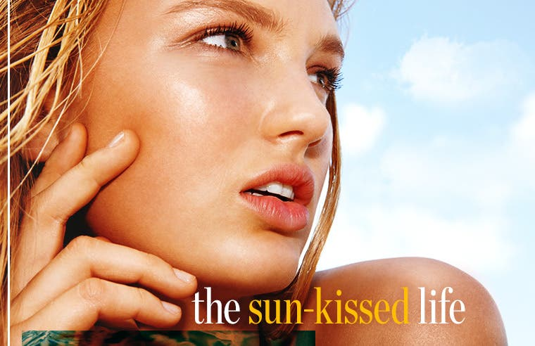 The sun-kissed life: sun-care tips and products for skin and hair.
