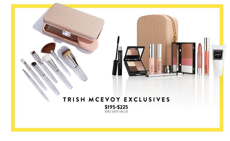 Makeup exclusives.