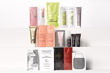 Receive a free 14-piece bonus gift with your $65 haircare purchase purchase