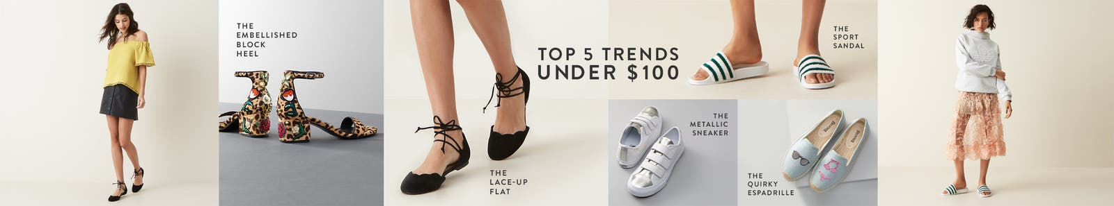 Top five trends under $100.