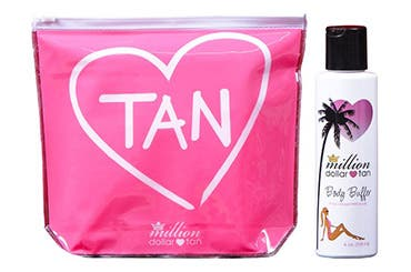 Million Dollar Tan gift with purchase.