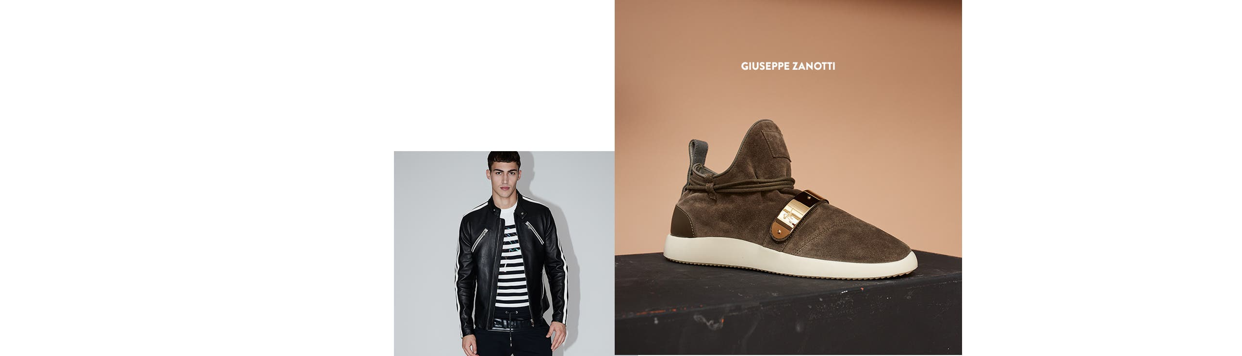 Giuseppe Zanotti shoes for men.