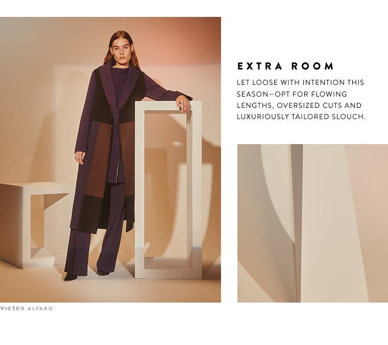 Extra room: designer fall 2016 oversized trend.