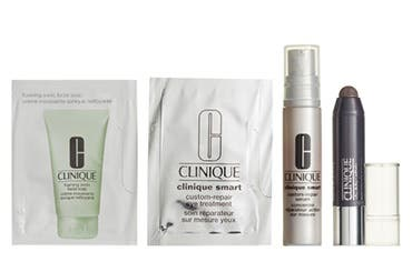 Receive a free 4-piece bonus gift with your $35 Clinique purchase
