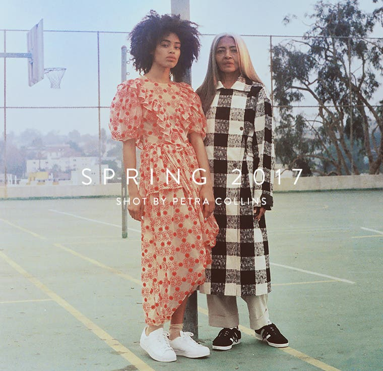Our spring 2017 campaign, shot by Petra Collins.