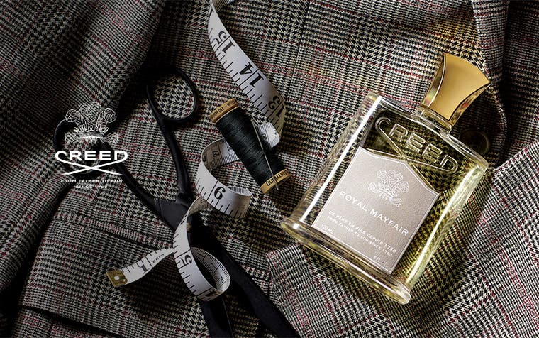 Creed fragrances for women and men.