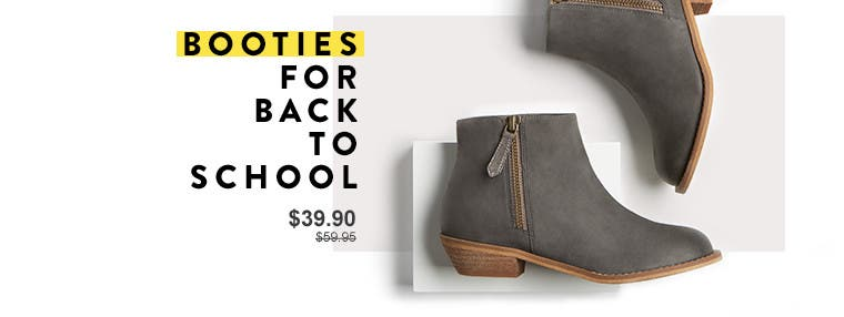 Booties for back to school. Anniversary Sale kids' shoes.