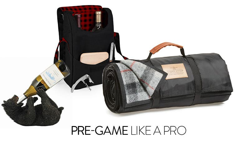 Pre-game like a pro: tailgating gear.