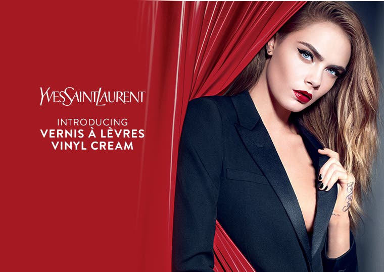 Introducing Yves Saint Laurent Vernis a Levres Vinyl Cream for lips.
