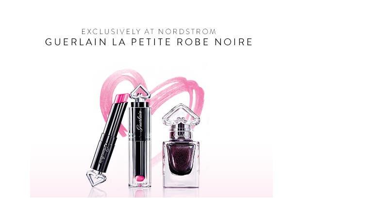 Nordstrom exclusive: Guerlain La Petite Robe Noire makeup.