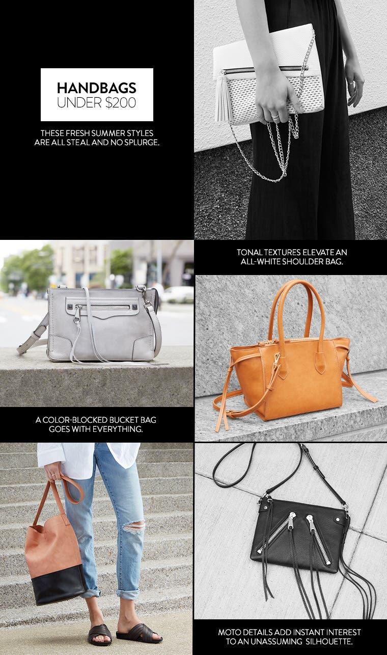 Handbags under $200.