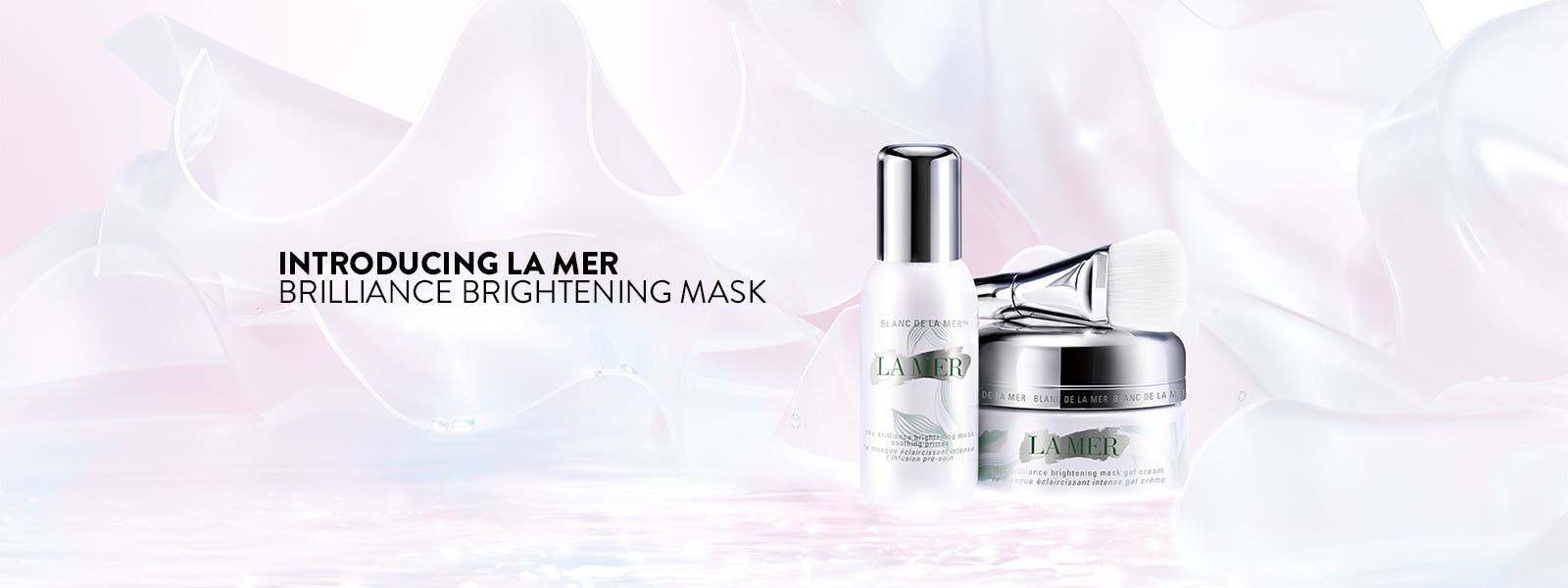 Introducing La Mer Brilliance Brightening Mask.