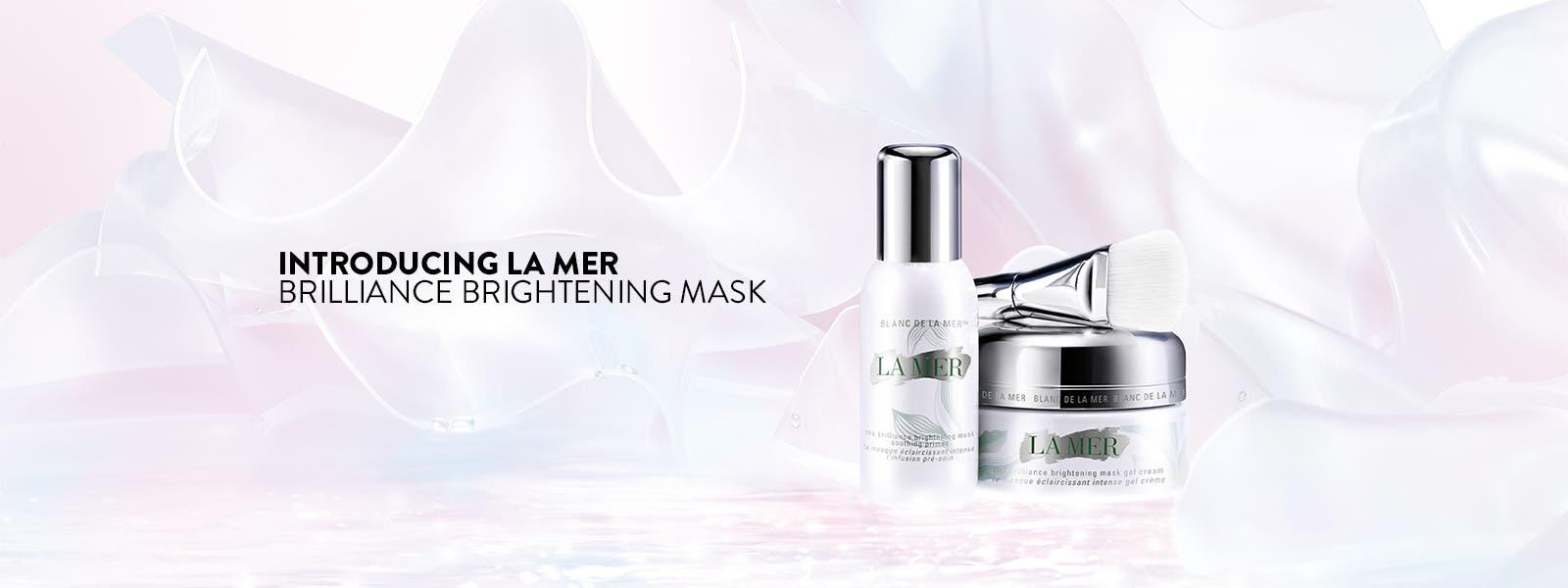 Introducing La Mer Brilliance Brightening Mask.