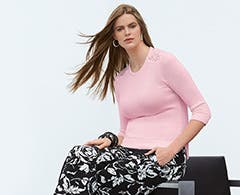 Women's plus-size clothing from Lauren Ralph Lauren.