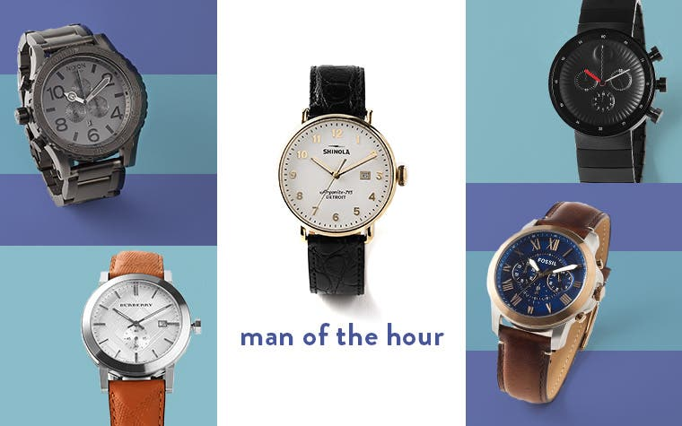 Man of the hour: Father's Day watches.