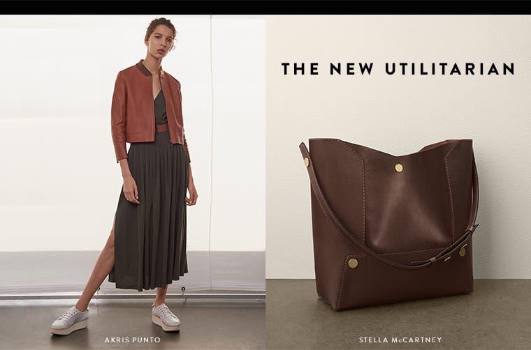 Spring '17 designer trend: utilitarian neutrals.