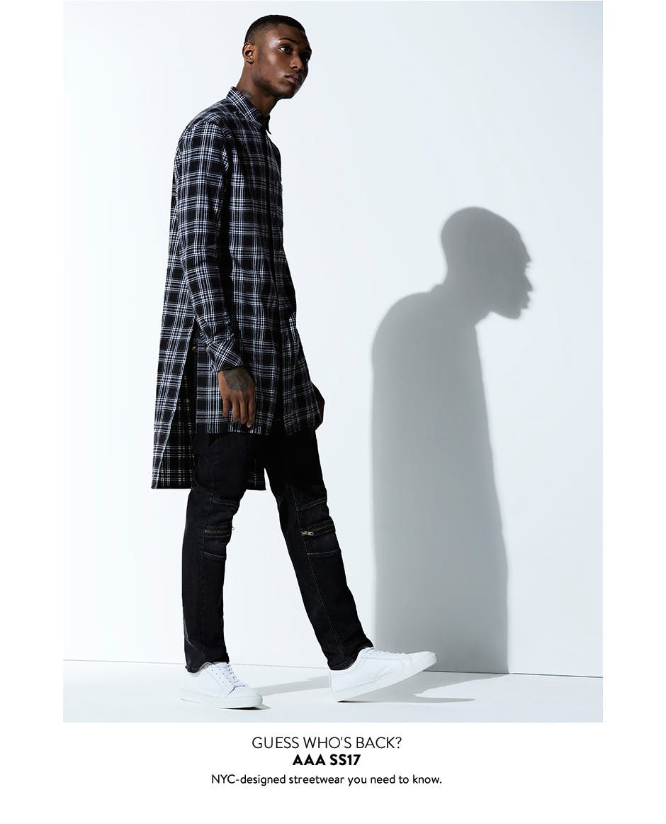 The Topman AAA Collection is back: NYC-inspired streetwear