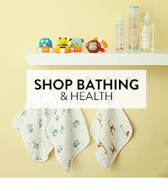 Baby bathing and health gear.