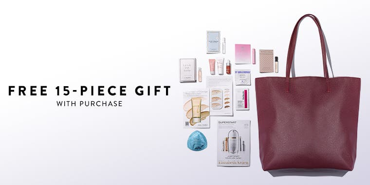 Receive a free 15-piece bonus gift with your $95 purchase