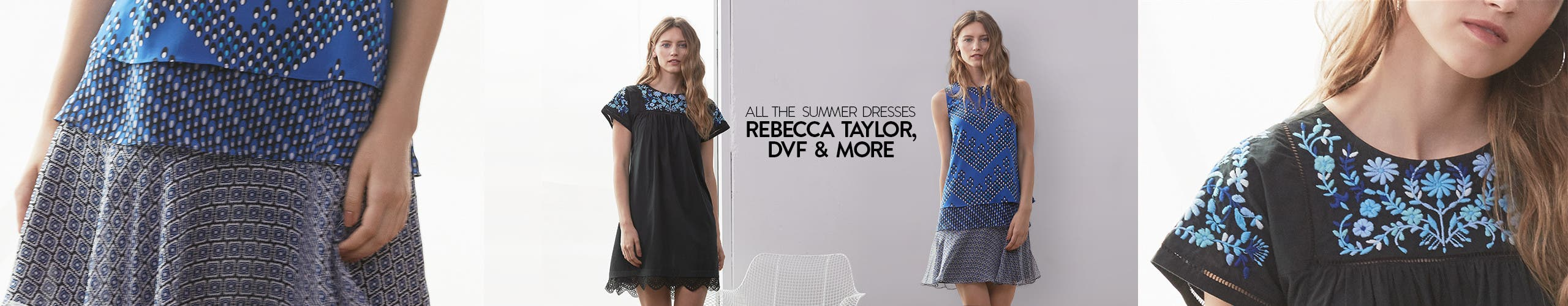 All The Summer Dresses: Rebecca Taylor, DVF & More