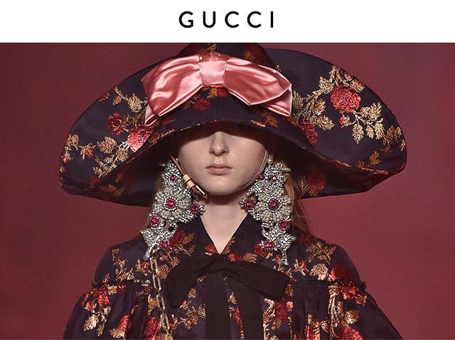 Spring 2017 Fashion Week: Caroline Issa reports on Gucci.