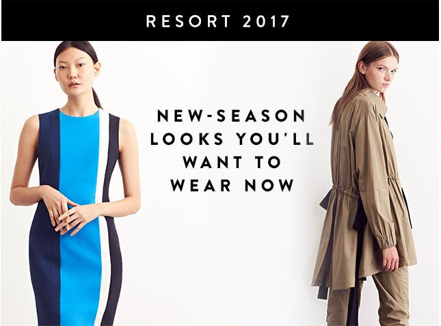 Resort 2017 designer collections: new-season looks you'll want to wear now.