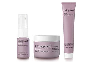 Receive a free 3-piece bonus gift with your $45 Living Proof purchase