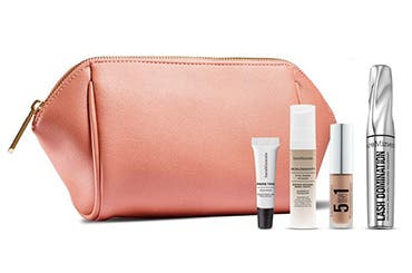 Receive a free 5-piece bonus gift with your $65 bareMinerals purchase