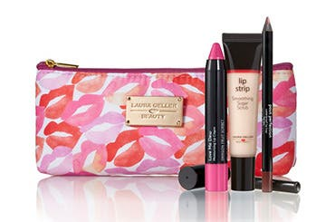 Receive a free 4-piece bonus gift with your $35 Laura Geller purchase