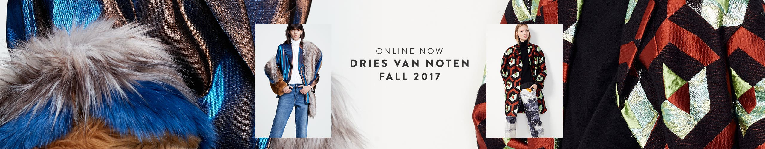 Online now: Dries Van Noten fall 2017.