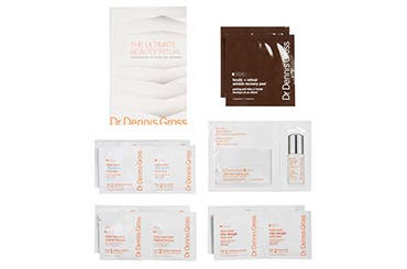 Receive a free 6-piece bonus gift with your $150 Dr Dennis Gross purchase