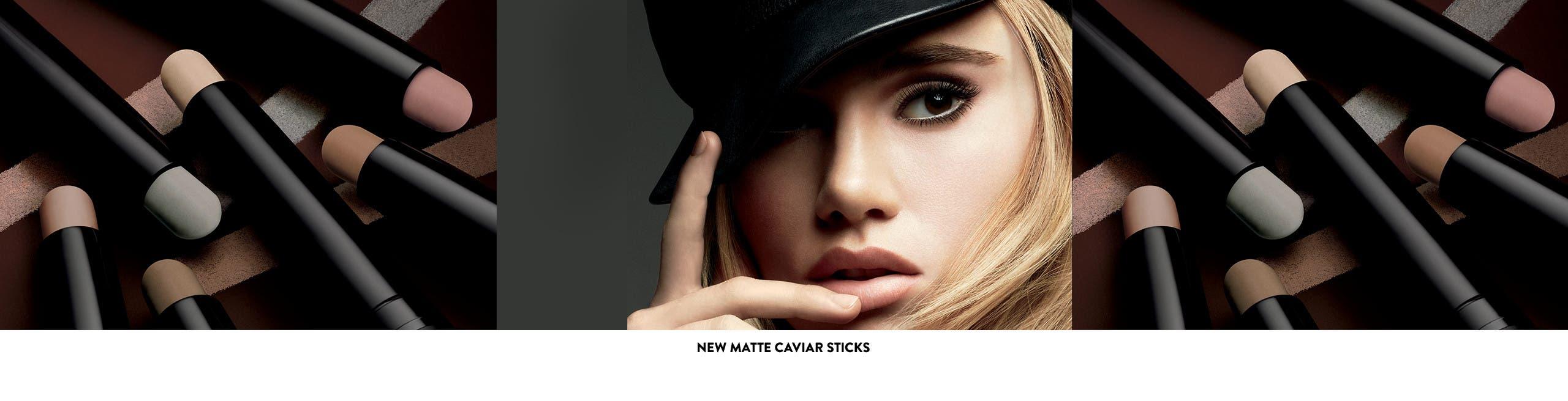 New Laura Mercier Matte Caviar Sticks.