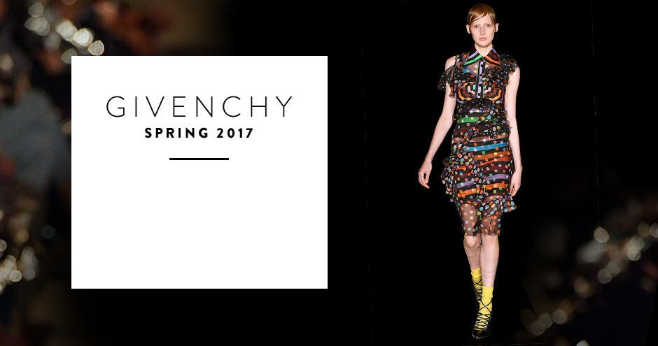 Givenchy spring 2017.