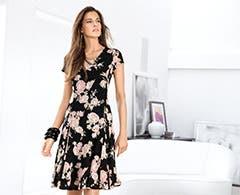 Women's dresses from Lauren Ralph Lauren.