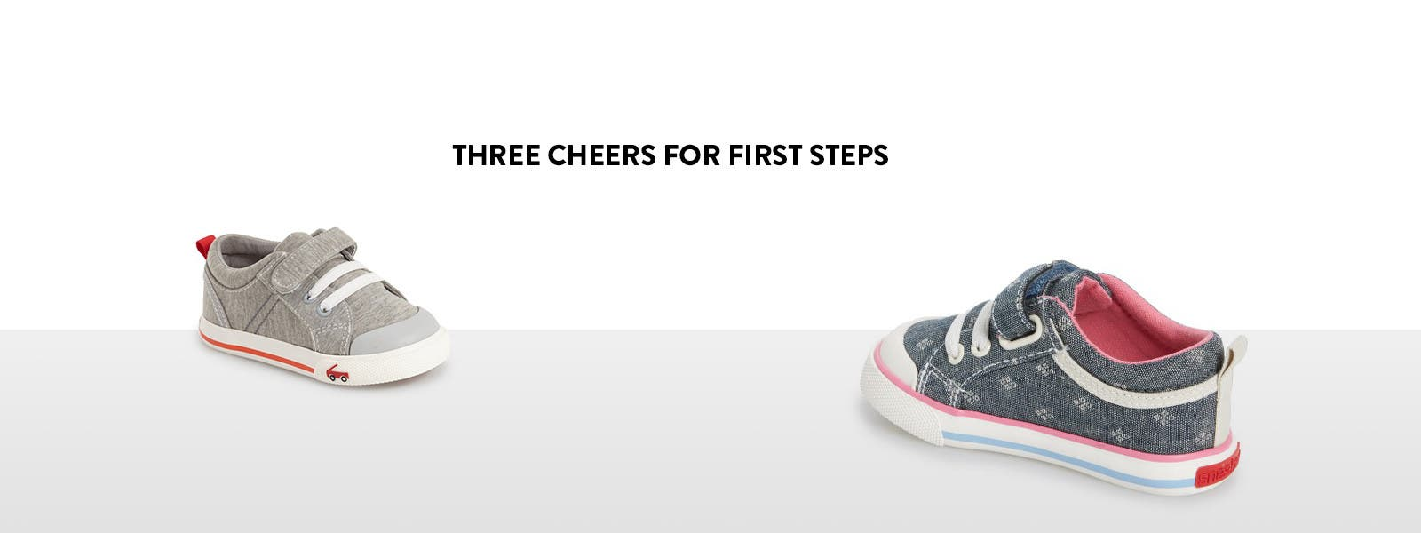 Three cheers for first steps and first walker shoes for your little ones.