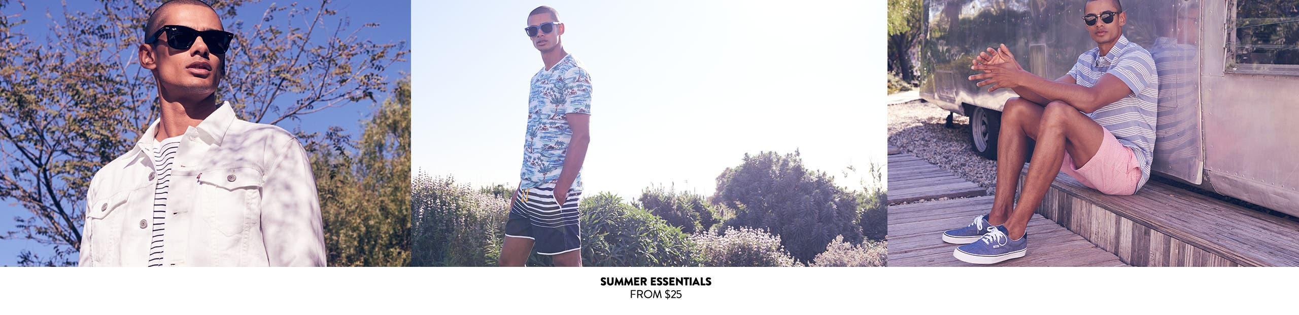 Summer essentials from $25