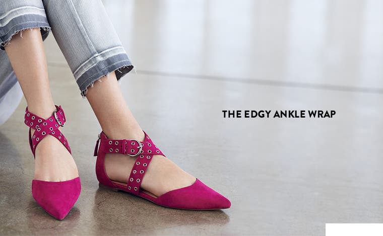 The edgy ankle wrap.