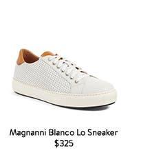 Magnanni Blanco Lo Sneaker.