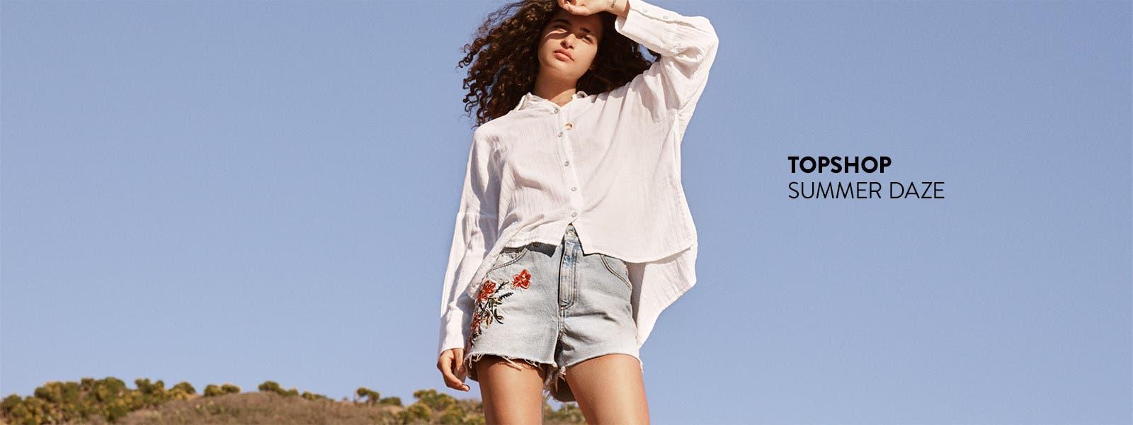 Topshop summer clothing.