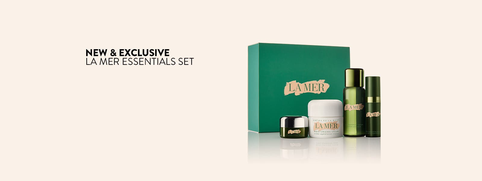 New and exclusive La Mer Introductory Collection.