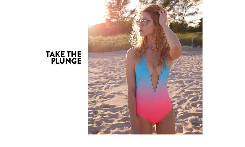 Take the plunge.
