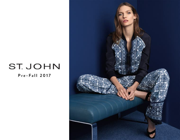 St. John clothing for women.